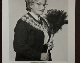 Movie photo from Mrs. Doubtfire.