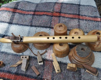 Native American style flute Jelutong F# scale by CBF