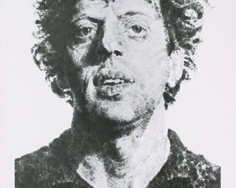Chuck Close-Large Phil Fingerprint-1981 Poster
