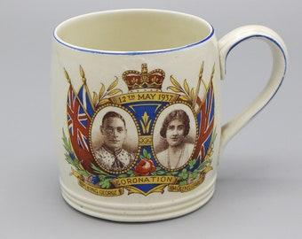 1937 King George VI Coronation Mug Commemorative