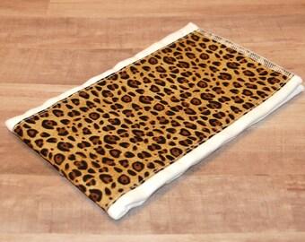 Leopard/ Cheetah Print Burp Rag- Ready to Ship
