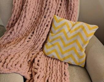Soft Chenille Lap Blanket