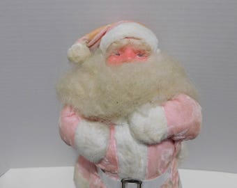 Vintage 1950's Pink Harold Gayle Santa Claus Doll