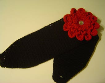 Crocheted Winter Headwrap Ear Warmer Headband