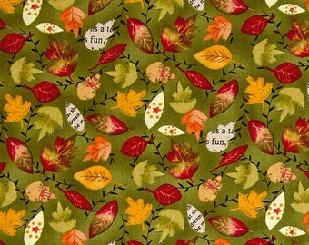Planner Cover - in Autumn Road fabric - F2