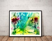 watercolor painting art p...