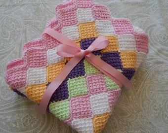 Baby Blanket - 100% Cotton Yarn