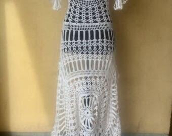 Hand crocheted dress