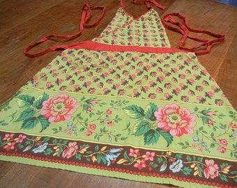 April Cornell-look apron - vintage full apron