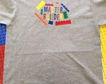 Lego Master Builder tshirt