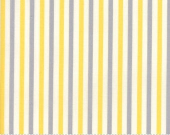 ESSENTIALLY YOURS - #8652-52 - One Half Yard - Grey-Yellow- Off-White - Modern - Neutral