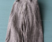 FREE SHIPPING / Blythe Doll Outfit /  1/6 doll size /  suspender wide pants / cotton / linen / SP-#02