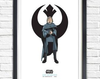 Star Wars - Solo Series - Luke Skywalker - 19x13 Poster