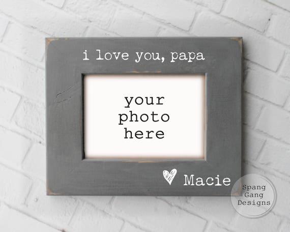 i love you papa photo frame Father's Day GiftI Love You Papa Cover Photos