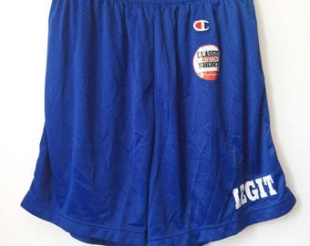 legit vintage X champion mesh shorts mens size XL deadstock NWOT 90s