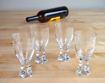 Iittala Tapio Wine Glasses Designed by Tapio Wirkkala Made in Finland