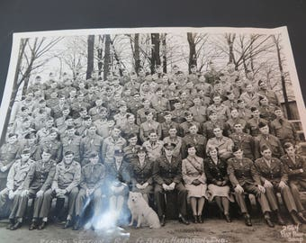 1944 Army Picture Taken at Fort Harrison Indiana