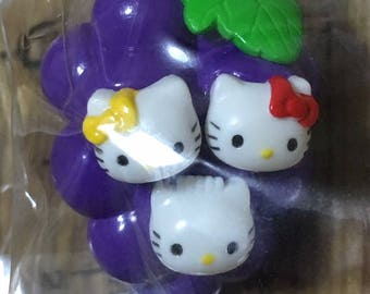 Sanrio Hello Kitty Key chain Yamanashi Grape