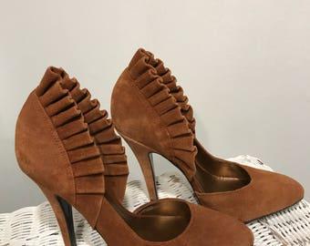 Carlos suede heels