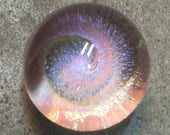 Vortex Marble titled Spinning around the sun Free Shipping in USA