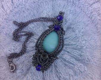 Amazonite Gemstone Pendant