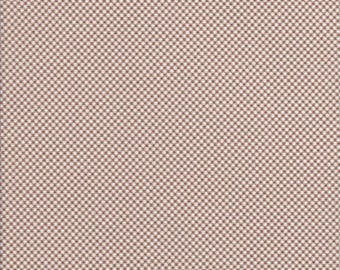 Cotton Tail Cottage - Tiny Brown Gingham Fabric - Brown Gingham Fabric - Gingham Fabric - Bunny Hill Designs