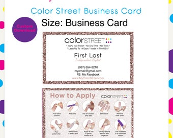 Business cards etsy reheart Image collections