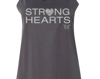 Womens   MP Strong Hearts Tank