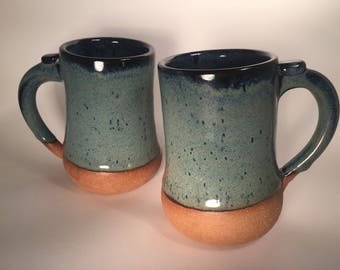 Pair of tall cozy mugs (sold as a pair)