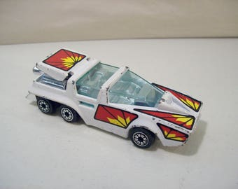 Vintage Kenner Fast 111'S Saturn Seeker Die Cast Car, 1980, Hong Kong