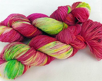 Handdyed SockYarn, 75 Wool, 25 Nylon 100g 3.5 oz. Nr. 756