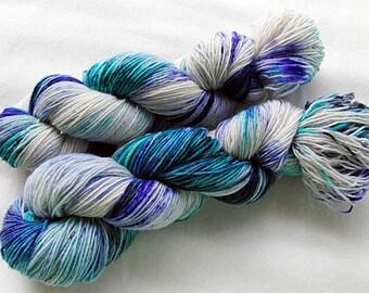 Handdyed SockYarn, 75 Wool, 25 Nylon 100g 3.5 oz. Nr. 158