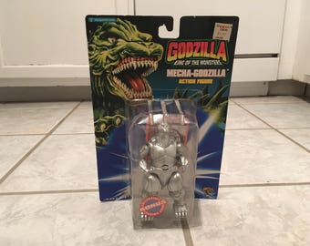 1994 Trendmasters Godzilla King of the Monsters Mecha-Godzilla Action Figure MIP