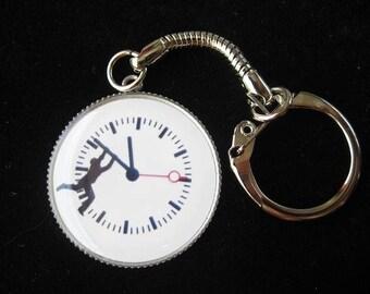 "Keychain ""Rat race time"""
