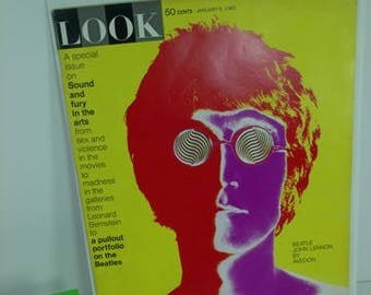 Classic Look Magazine-Jan.8/1968-Featuring the Beatles