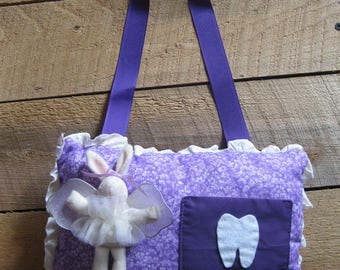Tooth Fairy Bag-Tooth Fairy Pillow-Child's Tooth Fairy Pouch-Lost Tooth Bag-Lost Tooth Pouch-Child Stocking Stuffer