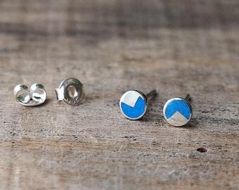 Handmade sterling silver earring