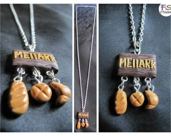 Necklace MELLARK BAKERY (bakery Peeta in Hunger Games)
