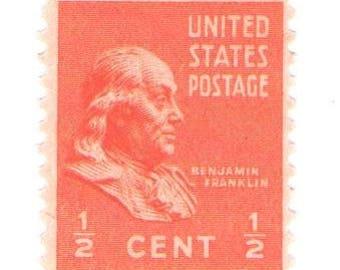 Unused 1938 Benjamin Franklin Prexie - Vintage Postage Stamps Number 803