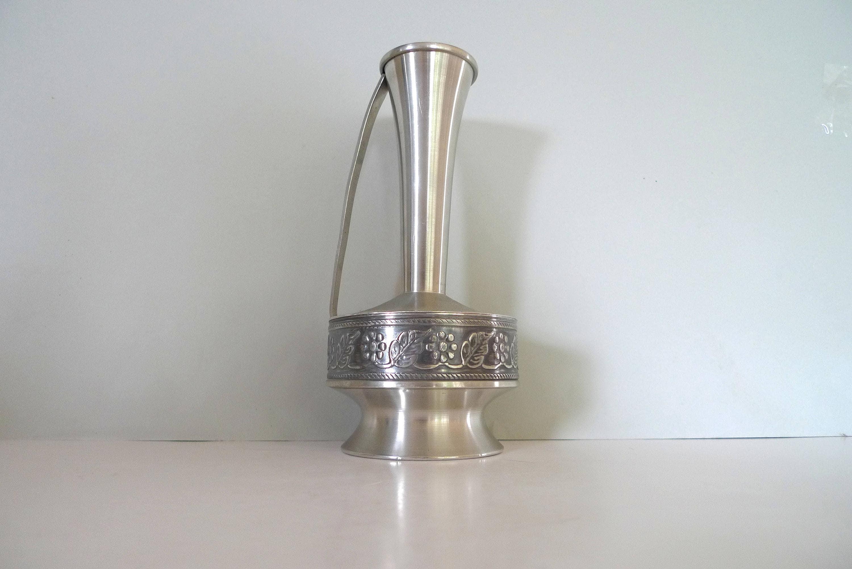 Pewter of norway vase holsen tinn mid century modern decor pewter of norway vase holsen tinn mid century modern decor vintage modern nordic reviewsmspy