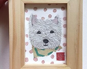 Westie Art, Westie Dog Gifts, Westie Decor, West Highland Terrier, Gift for Her