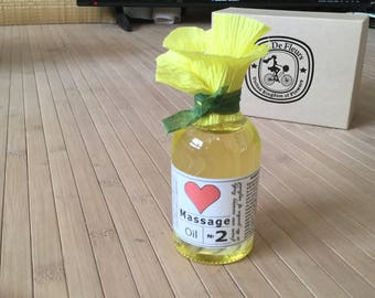 Bio Active Massage Oil No2 - Spa treatment Relaxation Tranqulity