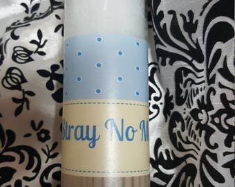 Stray No Mo, Ritual Candle, Spiritual, Candle , 7 day, Candle,Altar, Ritual, Wiccan, Hoodoo, Voodoo, Pagan