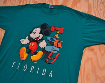 Super Sweet Vintage 90's Mickey Mouse Florida T-Shirt