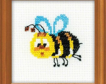Bee  - Cross Stitch Kit from RIOLIS Ref. no.:1111
