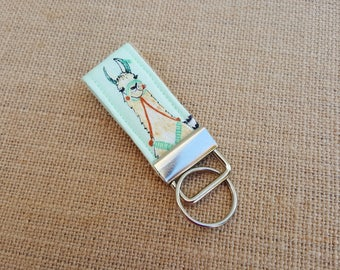 Llama Mini Keychain - Finger Key Fob