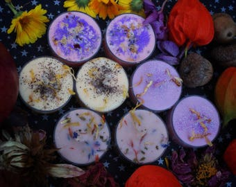 tealight 8 pack / choose your scent