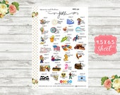 Celebrate June 2019 Planner Stickers - National Holiday Stickers - Special Days - Wacky Holiday Sticker - Holiday Planner Sticker - WH06