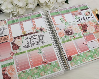 ECLP Floral Enchantress, planner stickeres, planner accessories
