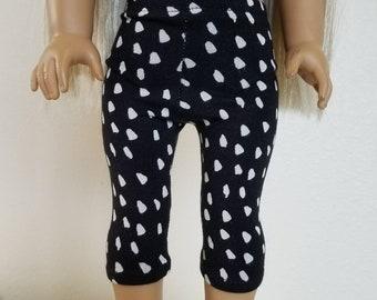 Capri Length Leggings for 18 inch dolls by The Glam Doll